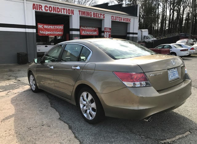 Honda Accord 2008 full